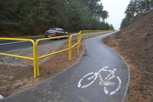 Część ścieżki rowerowej łączącej Bydgoszcz z Koronowem, na odcinku Bożenkowo- Samociążek, zbudowano w 2020 r. Ale wiele innych fragmentów powstało znacznie wcześniej
