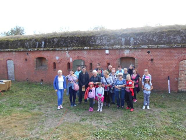 Uczestnicy poznali historię budowy, typy obiektów, ich znaczenie militarne.