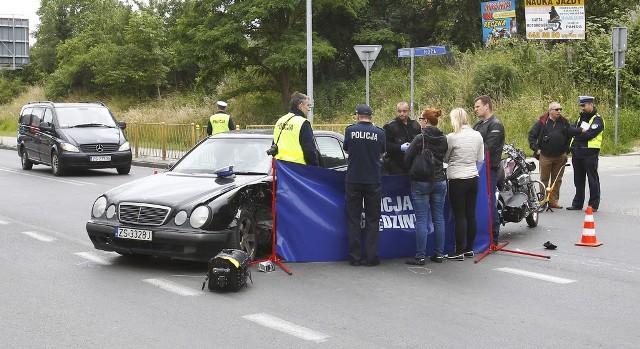 Do śmiertelnego wypadku doszło na skrzyżowaniu Hożej i Bogumińskiej w miniony czwartek.