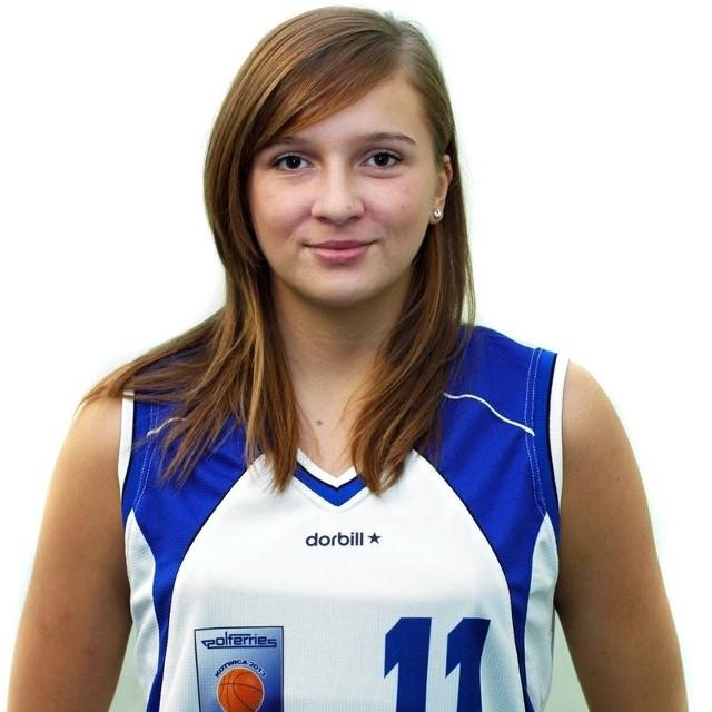 Justyna Wróbel do tej pory grała w Kotwicy Kołobrzeg.