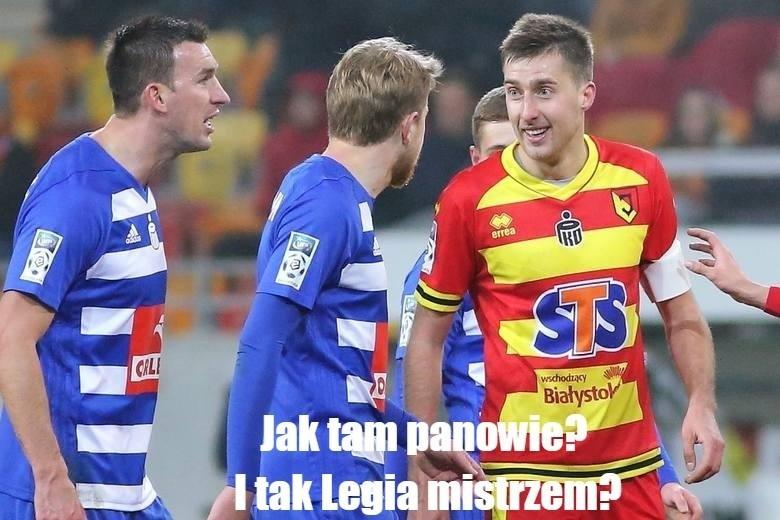 Memy po meczu Jagiellonia - Legia. Internauci nie mają litości dla Legii Warszawa