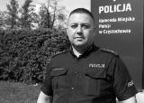Zmarł policjant z Częstochowy. To bohater. Artur Bojanowski uratował dziecko przed wypadnięciem z okna