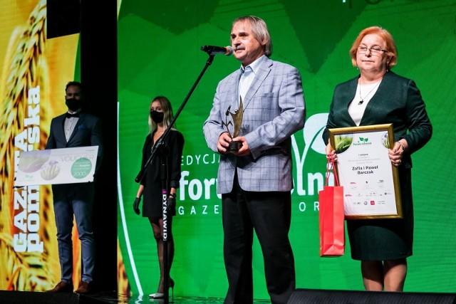 Forum Rolnicze 2020. Zofia i Paweł Barczakowie znaleźli się wśród laureatów konkursu Rolnik Roku