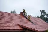 Supraśl. Paliła się sadza w kominie. Na miejscu były cztery zastępy straży pożarnej