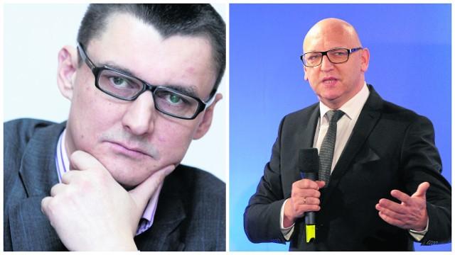 Lech Parell (z lewej) kieruje Radiem Gdańsk drugą kadencję. Marek Wałuszko (z prawej) kieruje TVP Gdańsk od niedawna