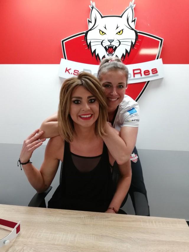Katarzyna Skowrońska-Dolata i Anna Kaczmar gościły w weekend w Rzeszowie. Niestety kontrakt na przyszły sezon w ekipie Developresu  podpisała tylko jedna z nich