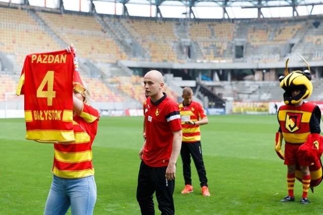 Michał Pazdan nie zagra przeciwko Górnikowi Zabrze, ale wierzy w wygraną Jagiellonii ze swoim byłym klubem