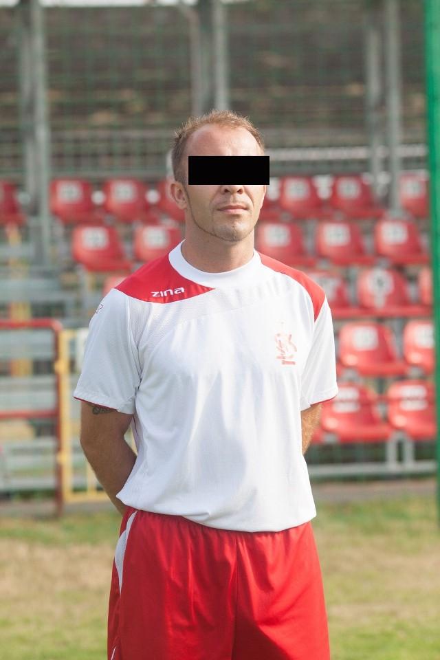 Jednym z oskarżonych o korupcję jest Michał B., kapitan łódzkiej drużyny