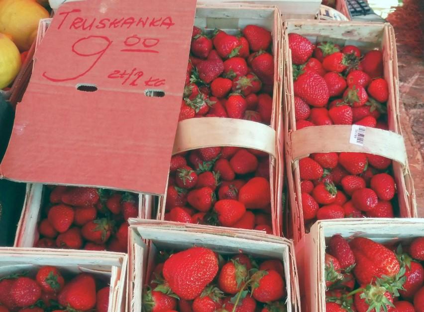 Łubianka truskawek kosztowała od 9 do 13 złotych.