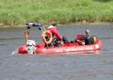 Dramatyczne sceny w Lubsku. Mężczyzna zniknął pod wodą. Wyłowiono ciało