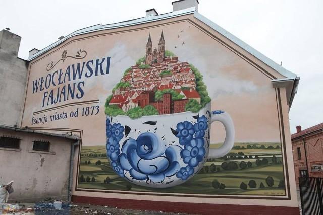 """Autorzy facebookowego profilu """"Inspirowani Podróżą"""" zwrócili między innymi uwagę na murale we Włocławku"""