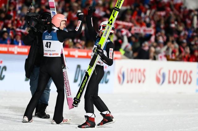 Dawid Kubacki i Kamil Stoch