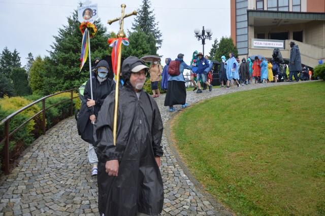 Wyjście bocheńskiej grupy Pieszej Pielgrzymki Krakowskiej na Jasną Górę, 4 VIII 2020