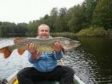 To jest szczupak! Ważył ponad 10 kg. Gdzie można złowić taaaką rybę?