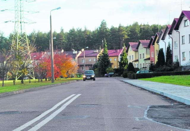 Teren, na którym zbudowano drogę, należy m.in. do LTBS