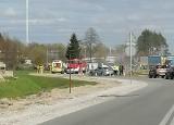 Trzy auta zderzyły się na DK 5 w Kruszynie Krajeńskim pod Bydgoszczą