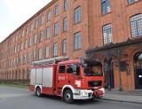 Alarm pożarowy na terenie loftów przy ul. Tymienieckiego [zdjęcia]