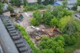 Poznań: Trwa wyburzanie budynków Wiepofamy. Powstanie tam osiedle Nowe Jeżyce [ZDJĘCIA, WIDEO]