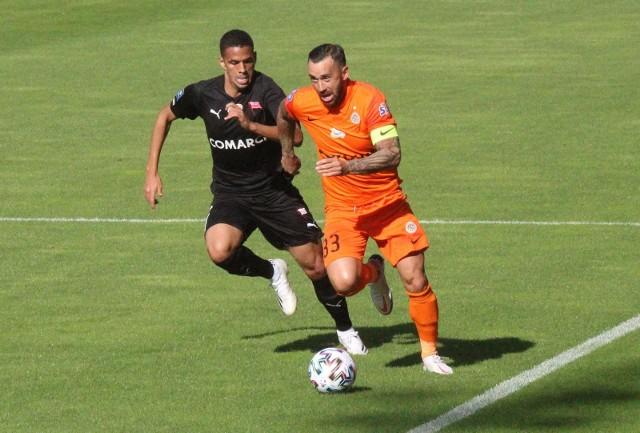 W jesiennym meczu w Lubinie Zagłębie zremisowało z Cracovią 1:1