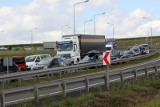 Karambol na autostradzie A4. Zderzyły się tam 4 samochody