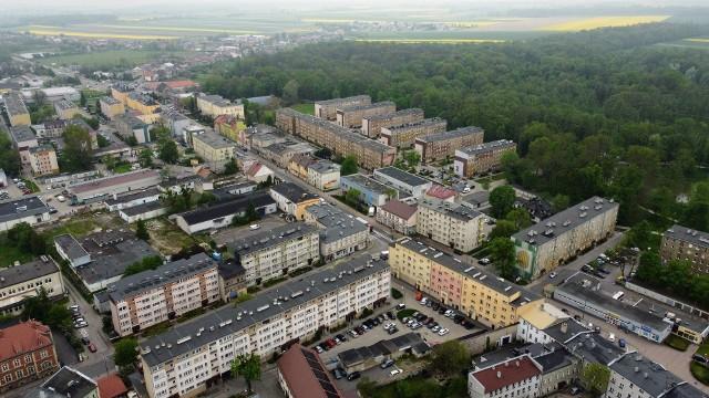 Prace prowadzone są na ul. Krakowskiej w Strzelcach Opolskich (droga krajowa nr 94)