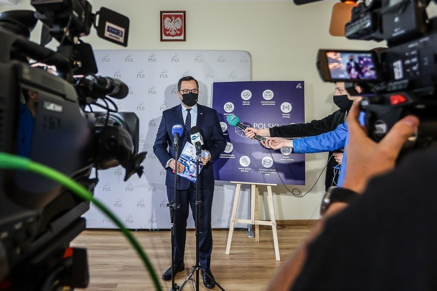 Konferencja Marcina Horały 22.05.2021.