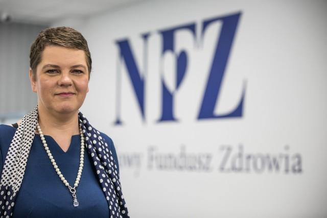 ELŻBIETA FRYŹLEWICZ-CHRAPISIŃSKA, dyrektor Małopolskiego Oddziału Wojewódzkiego NFZ