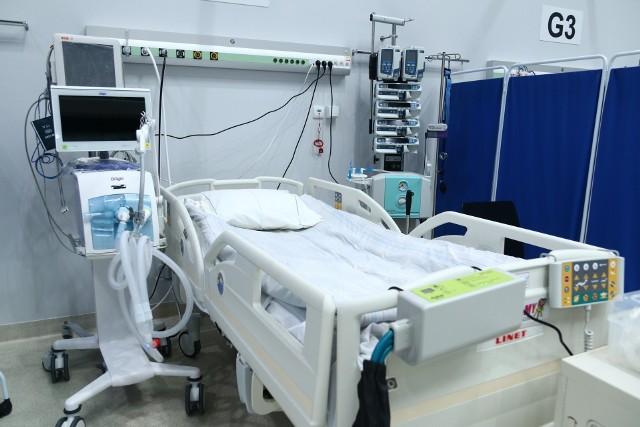 Szpital tymczasowy w CWK w Opolu zwiększy bazę łóżek.