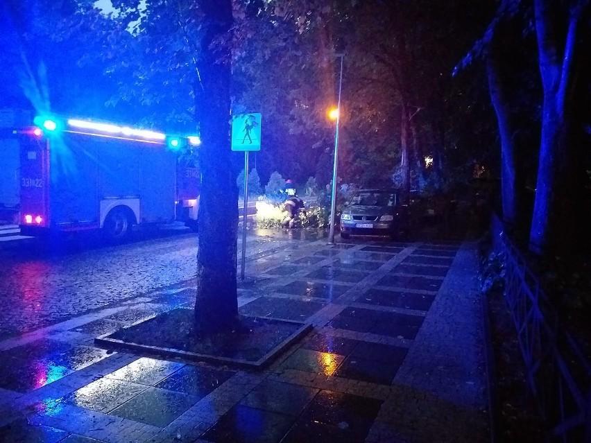 Nad Koszalinem i regionem przeszła burza. Po godz. 20 w...