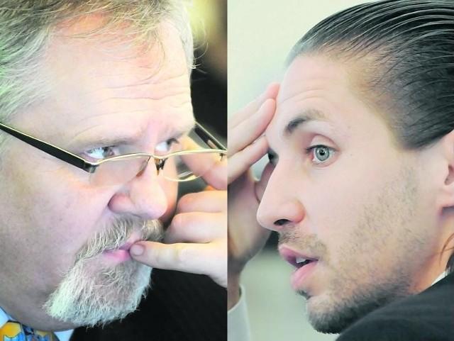 Andrzej Brachmański wystąpił z SLD w zeszłym roku, Filip Gryko jeszcze formalnie jest w partii