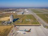 Niezwykłe zdjęcia lotniska w Pyrzowicach z drona. Tak wygląda Katowice Airport w kwietniu 2019. Zdjęcia Roberta Neumanna