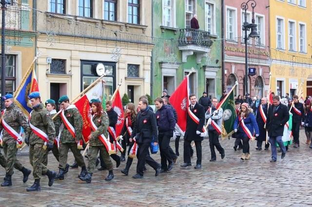 Powstanie Wielkopolskie. Marsz z okazji 95. rocznicy wybuchu