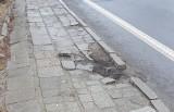 Lipy załatwiły chodnik w Grudzicach. Interwencja czytelniczki