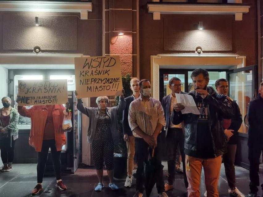 Piątkowy protest w Kraśniku