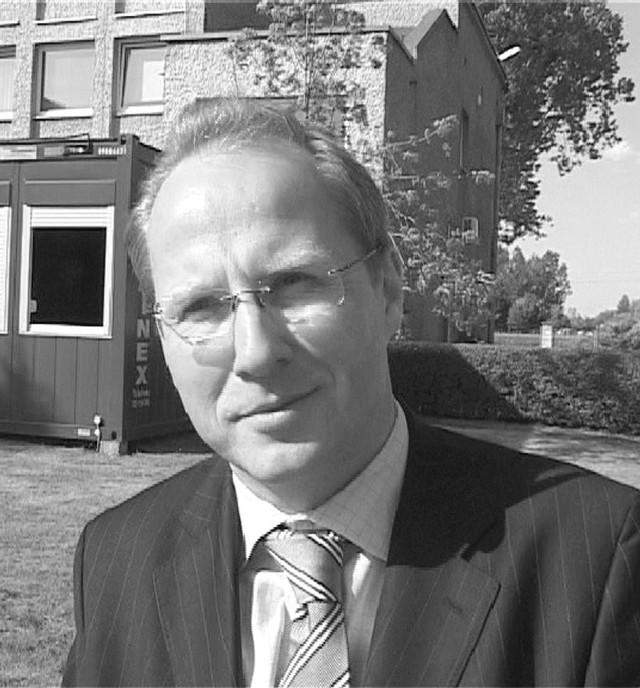Grzegorz Król, prezes firmy McBride ze Strzelec Opolskich. (fot. Radosław Dimitrow)