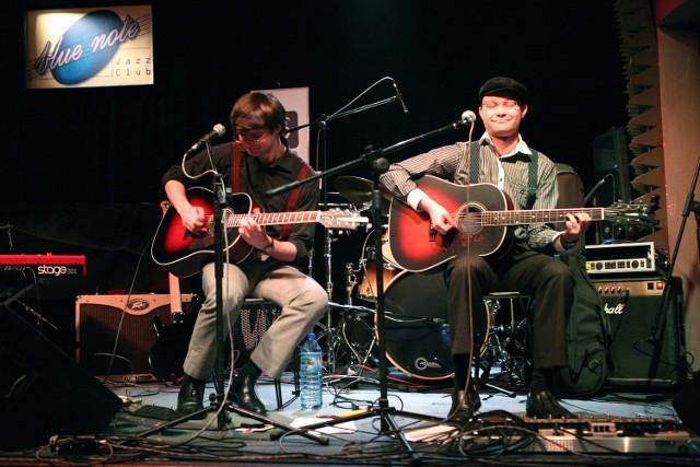 Bąkowski Kowalewski Blues Duo zagrają we wtorek w poznańskim klubie Blue Note ze swymi gośćmi