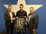Mikołaj Biegański, utalentowany bramkarz z Częstochowy, podpisał kontrakt z Wisłą Kraków