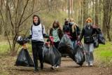 Z okazji Światowego Dnia Ziemi mieszkańcy Bydgoszczy, i nie tylko, sprzątali Puszczę Bydgoską [zdjęcia]