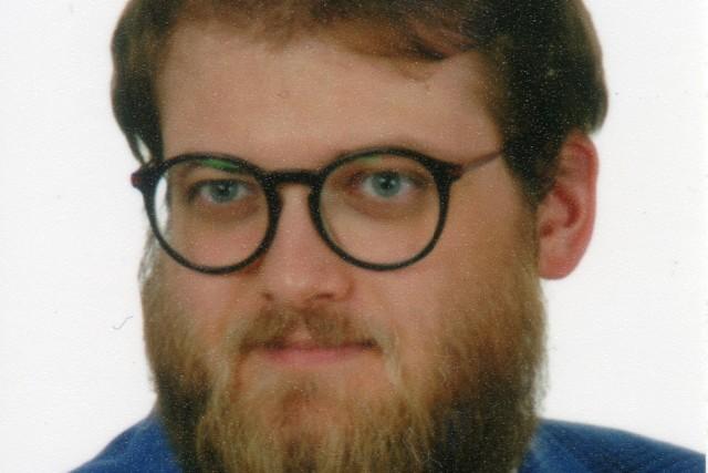 Michał Różycki, autor nominowanej pracy
