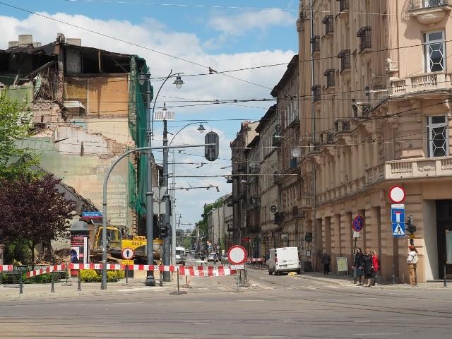 Przez walący się zabytek odcinek ul. Kilińskiego jest zamknięty dla ruchu już dwa tygodnie.