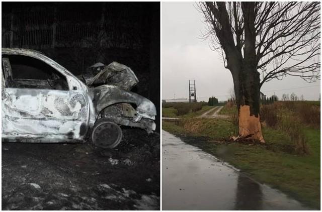 19-latkowie zginęli w dwóch podobnych wypadkach samochodowych