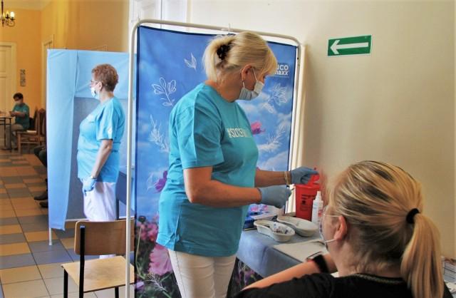 Ze szczepień przeprowadzonych 7 i 8 sierpnia w Urzędzie Miasta Tarnobrzega skorzystało 151 osób.
