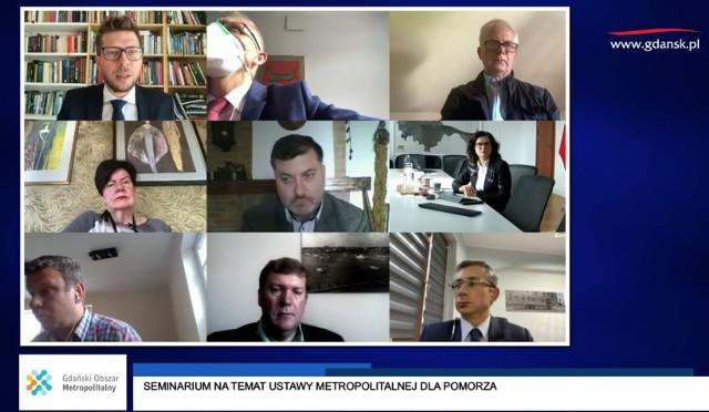 Konferencja online w sprawie projektu ustawy metropolitalnej dla Pomorza