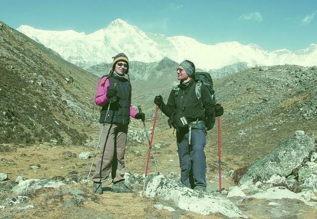 Mariusz Lewicki często podróżuje ze swoją żoną. Oboje uwielbiają trekking.