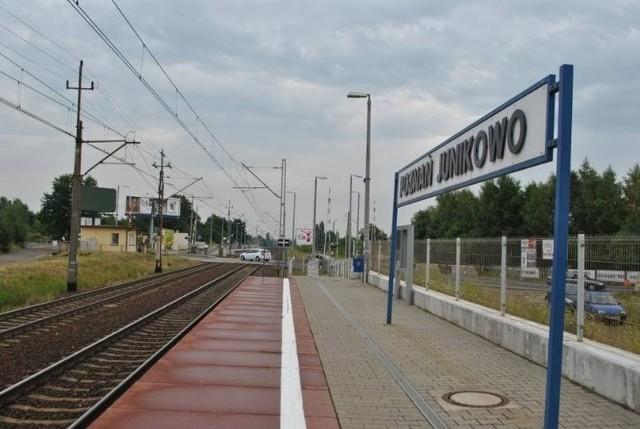 3-latek bawił się na torach kolejowych niedaleko stacji Poznań Junikowo