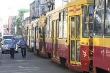 """Stały tramwaje na Narutowicza. Awaria """"9"""" przyczyną zatrzymania ruchu"""