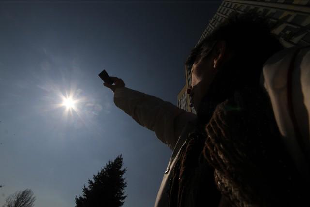 Częściowe zaćmienie słońca w Polsce w 2015 roku