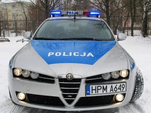 Alfa romeo 159 w służbie augustowskiej policji