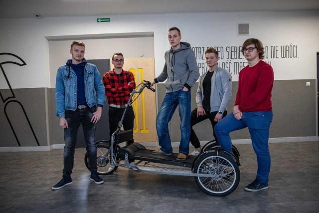 Uczniowie ZST w Białymstoku prezentowali swoje zwycięskie projekty