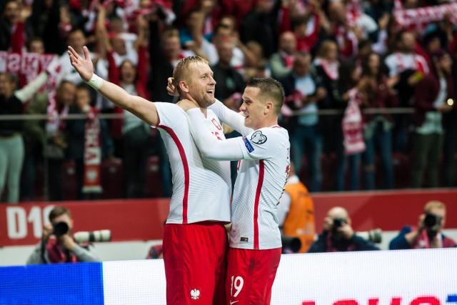 Kamil Glik ma na koncie 55 meczów w reprezentacji Polski. Strzelił w nich cztery gole.